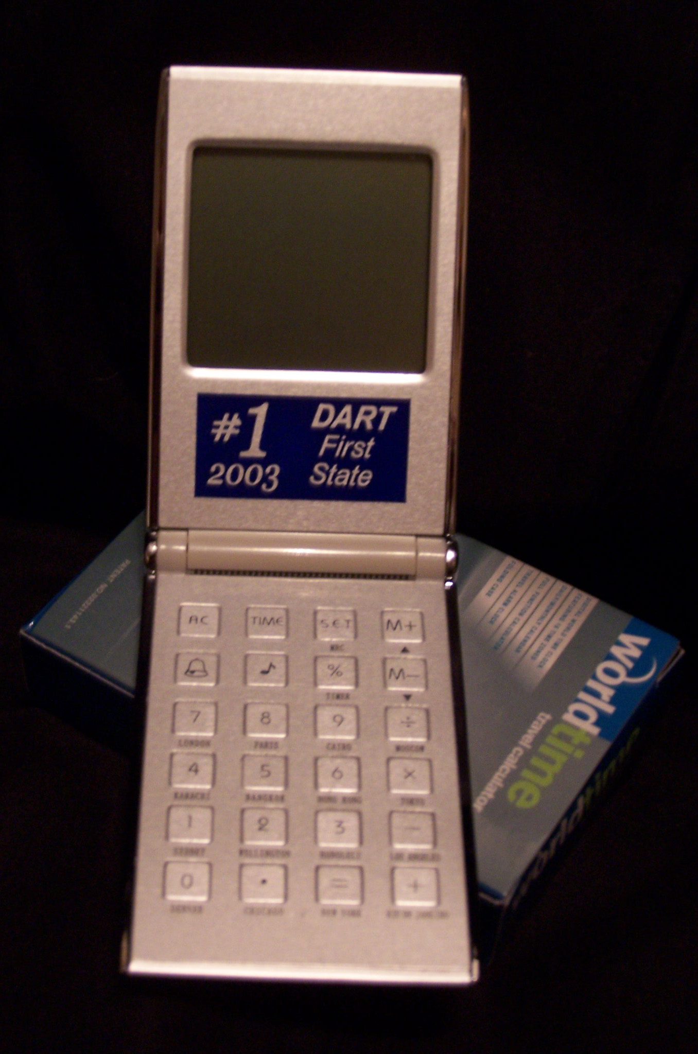DART World Time Clock/Calculator